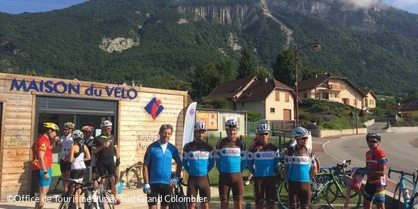 Car-free cycling day of the Grand Colombier