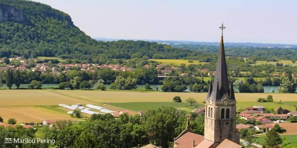 Visite audio guidée : Sorlin-en-Bugey: le joli bourg vigneron