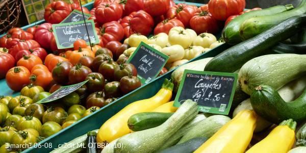 Vennes district market place