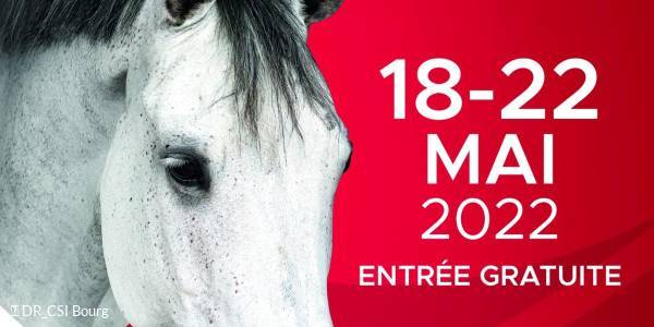 International jumping of Bourg-en-Bresse
