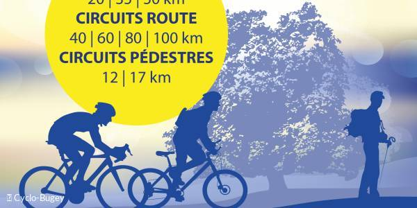 29th Randonnée des Lacs en Bugey (cycling and hiking sportives)