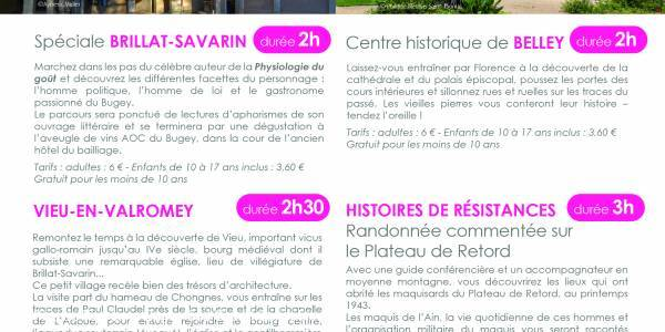 Visite guidée spéciale Brillat-Savarin