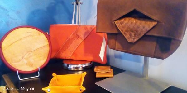 Portes ouvertes à l'atelier Amarande G : Cuir de carpe