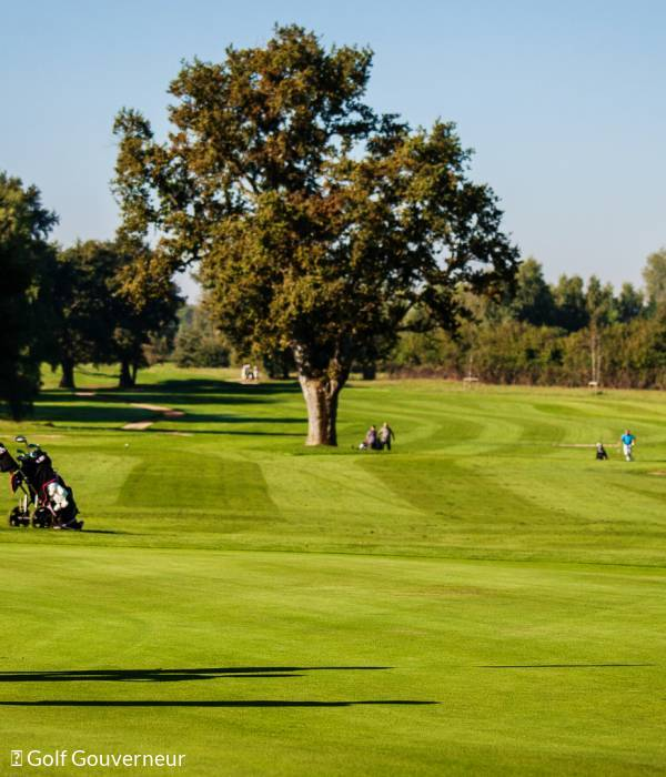Le Gouverneur Golf Club, one of the largest golf courses in France