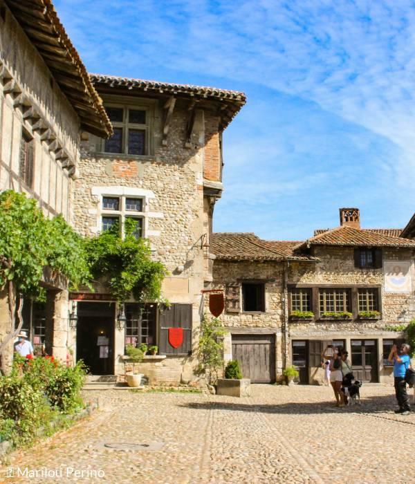 Medieval city of Pérouges