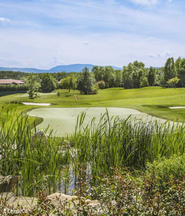 Jiva Hill Golf Club, accessible to all in a lush, green setting